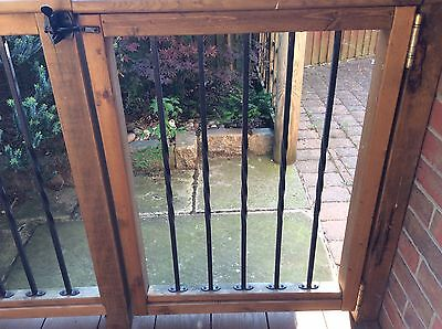 Wrought Iron Balustrade With Twist X 116