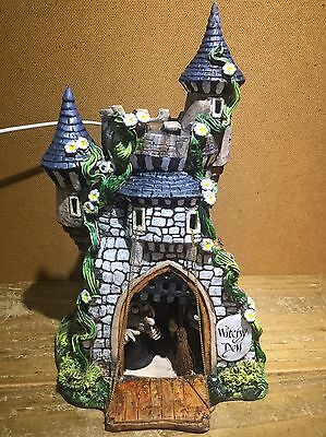 David taylor witchy dell dragon castle stable witch clock