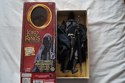 RARE Lord of the Rings Two Towers Witchking Ringwraith 12 inch collector series