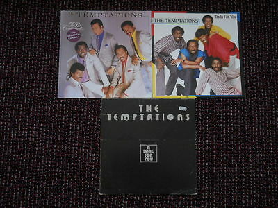 3 x Temptations LP Sammlung To be continued & A Song for you & Truly for you