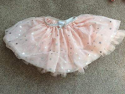 NEXT Ballerina Tutu Frilly Skirt Size 6-9 Month with Stars