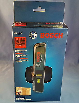 NEW Bosch GLL 1P Combination Point and Line Laser Level