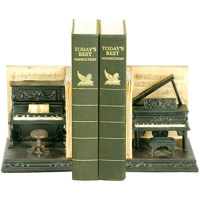 Sterling Industries Dueling Piano Book Ends Set of 2