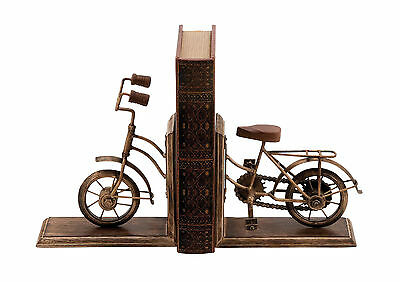 Woodland Imports Metal Book Ends Set of 2