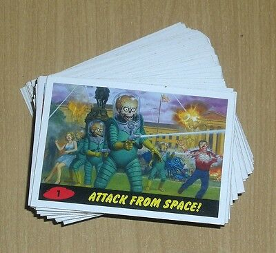 2013 Topps MARS ATTACKS INVASION HERITAGE 54-card insert chase lot -4 from set