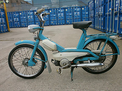 1965 LAMBRETTA LAMBRETTINO 39cc MOPED in BLUE