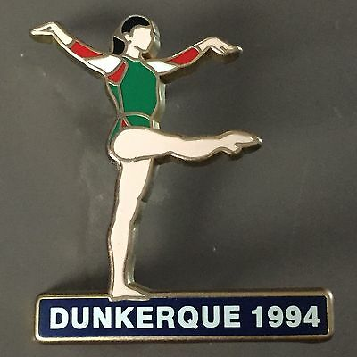 Pin'up Pins Gym France Telecom Dunkerque 1994 Arthus Bertrand Rare