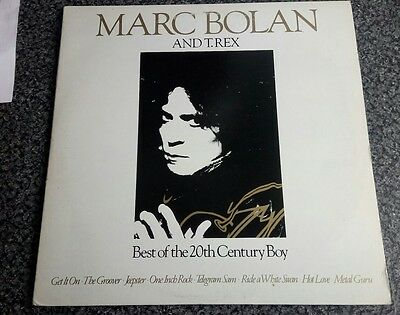 Marc Bolan And T-Rex.best Of 20Th Century Boy.double.vinyl Lp.