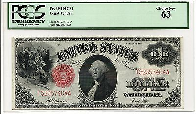 ***2 of 3 CONSECUTIVE*** 1917 $1 Legal Tender Note! PCGS 63!!!