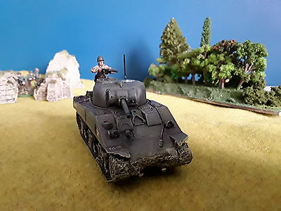 28mm WW2 Bolt Actiom US Sherman M4 Built & Painted