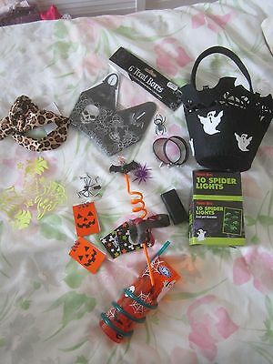 Halloween items job lot new and used