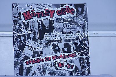 Motley Crue Decade of Decadence Vinyl double album LP 7559-61204-1