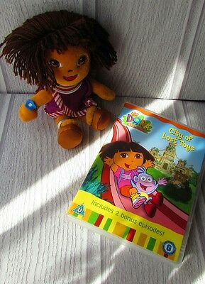 Dora The Explorer Doll and Dvd