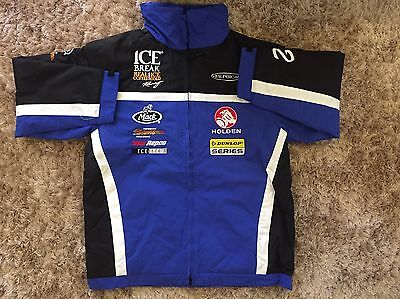 V8 Supercars Jacket, Genuine Chris Pither Ice Break