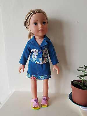 Jacket and skirt for Design a Friend 18 in.dolls