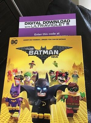 The Lego Batman Movie Digital Download Code ONLY