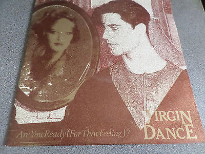 """VIRGIN DANCE ~ Are you ready(for that feeling)? UK 3 track12"""" in picture cover"""