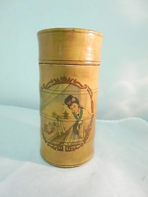 Antique/Vintage Wooden Sewing Kit/Container