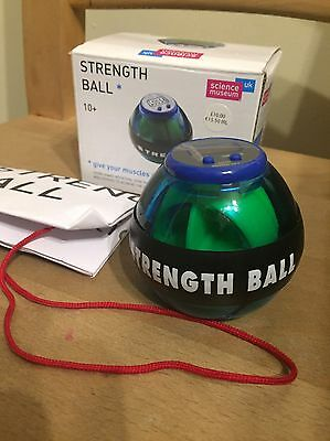 Science Museum Classic Strength ••••• Ball BOXED WITH NEW BATTERIES ••••••