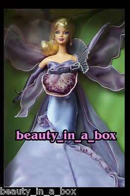 The Orchid Barbie Doll Flowers in Fashion NO BOX ~ On Backing ""
