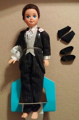 Todd Ring Bearer Wedding Party Midge Alan 1990 New Open Shoes Socks Barbie