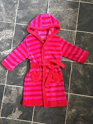 Girls Dressing Gown Age 18-24 Months