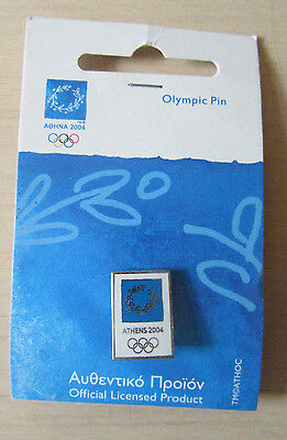 BN Athens 2004 Official Olympic Pin