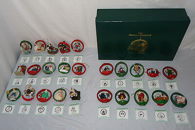 Norman Rockwell Christmas Ornament DANBURY MINT Collectors Club