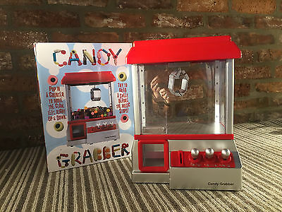 CANDY GRABBER - Arcade Replica Fairground Funfair Grab a Sweet or Toy - NEW
