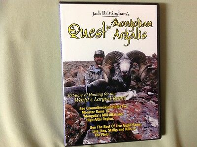 Jack Brittingham's Quest for Mongolian Argalis hunting the Worlds Largest Rams