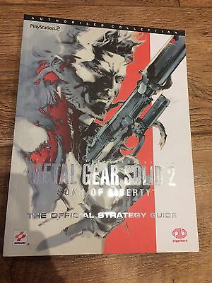 Metal Gear Solid 2 Official Strategy Guide