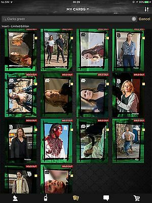 TWDCT - Full Green 'The Clarks' Set. Now Including Award.