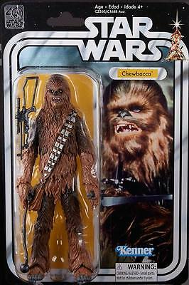 Star Wars 40Th Anniversary Kenner Hasbro Action Figure Chewbacca Moc