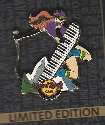 HARD ROCK CAFE PIN  * VIENNA * Snowboarder  LE