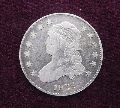 NICE 1828 US Capped Bust Quarter