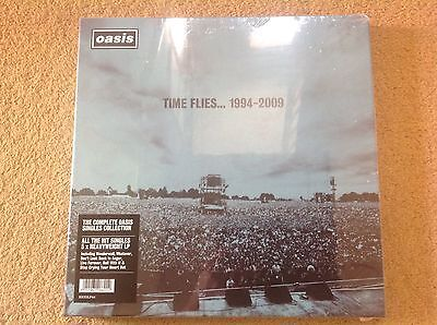 OASIS Time Flies 1994-2009 5 LP VINYL BOX SET Rare Limited Edition New & sealed