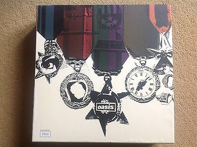 Oasis 8 Rare Album Vinyl Studio Box Set Fan Club Only Collection Ltd No 460/1500