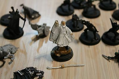 Lord of the Rings Gamesworkshop Miniature Lot Gandalf Ring Wraith Goblins Elves