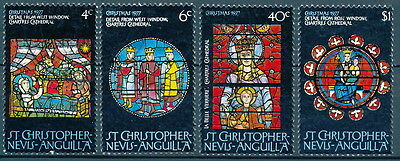 St. Christopher Nevis Anguilla Scott 346-349 used.