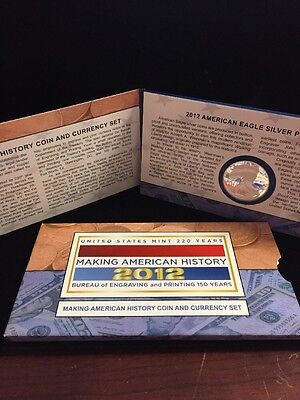 2012 - United States Coin And Currency Set - Proof Silver Eagle