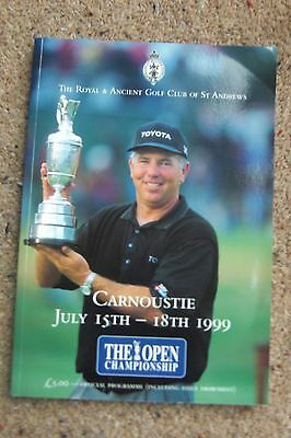 The Open Championship Carnoustie 1999 Programme