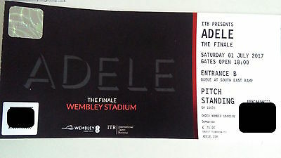 "2 x Adele Tickets Standing 01.07.2017 ""The Finale"""