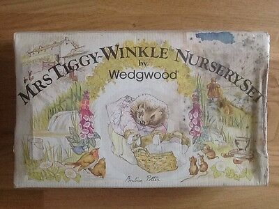 Mrs Tiggy Winkle Nursery Set by Wedgewood