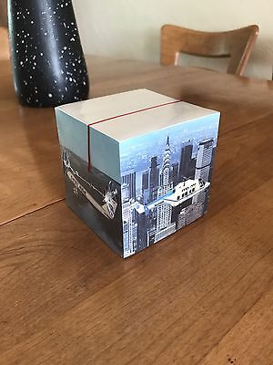 Vintage Pan Am Unopened Note  Cube