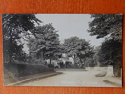 1909 Photographic postcard: Entrance to Waltham, Lincolnshire