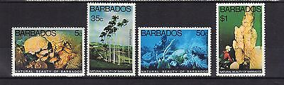 Barbados. The Beauty Of Barbados 1977 Mnh