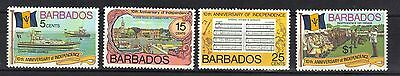 BARBADOS. 10th ANNIVERSARY OF INDEPENDENCE 1976 MNH
