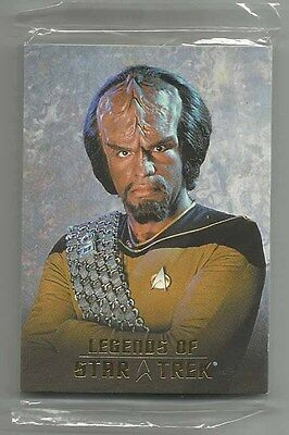 2007 Legends of Star Trek WORF Complete Set of 9 SEALED Cards (L1-L9) 0561/1701