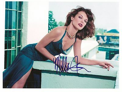 "Milla Jovovich ..8X10"" Signed Autograph Reprint-Photo"