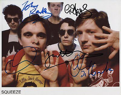 "Squeeze FULLY  Signed Autographed 8x10"" Photo"